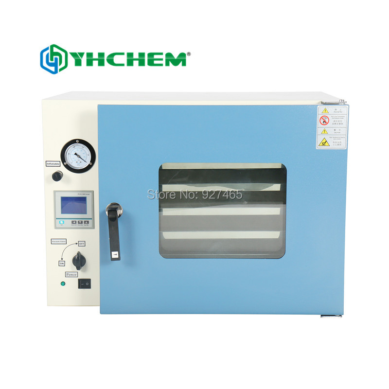 DZF-6050 vacuum drying oven with time-control and stainless frame