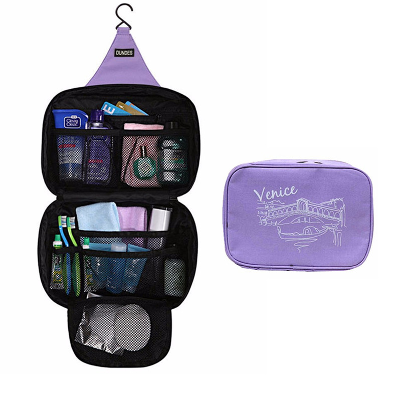 Hanging Cosmetic Bags Travel Toiletry Storage Makeup Cases Beauty Wash Organizer Brushes Lipstick Pouch Boxes Accessories