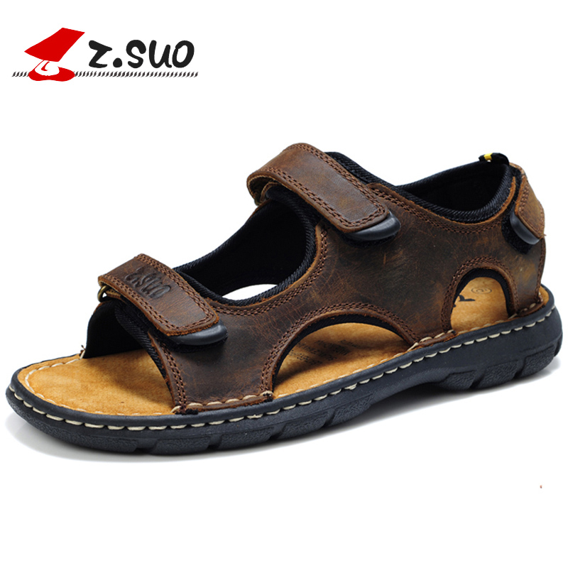 2017 Men s summer male sandals breathable casual fashion sandals slippers slip resistant