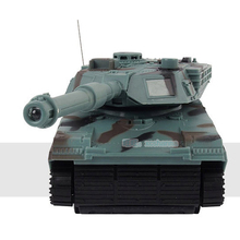 1:22 RC Tank Battle RC Fighting Toy Tank Model Classic R/C Radio Remote Control Tank 360 Rotation Music LED toys For Children