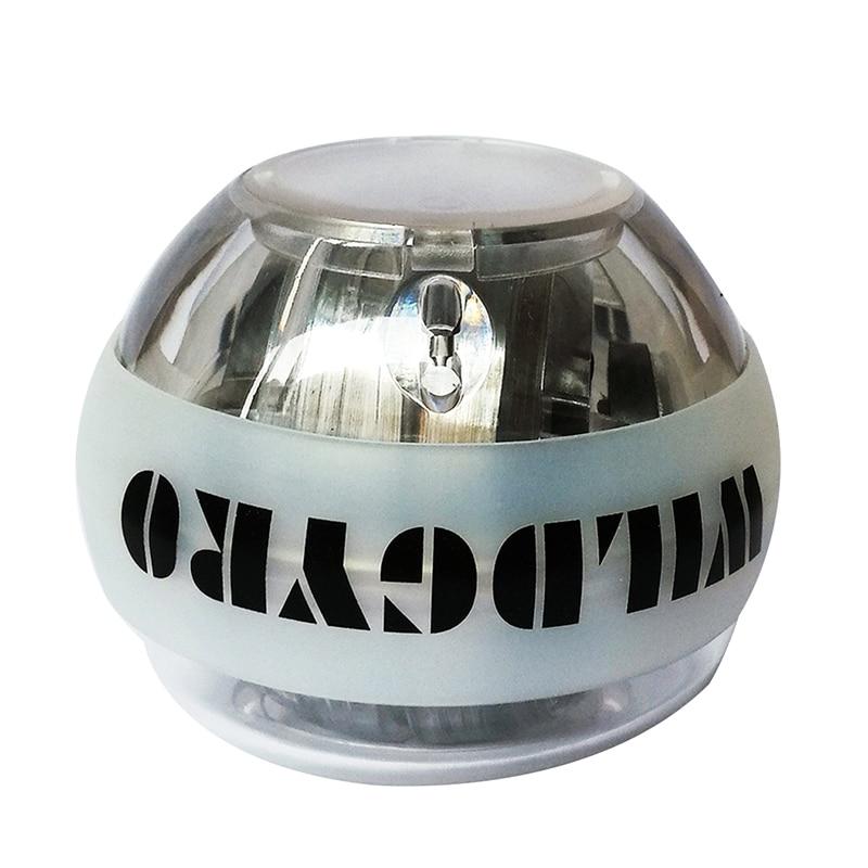Гироскоп силовой шар светильник на запястье мяч для тренировки мышц давление гироскоп тренажер для рук усилитель светодиодный с счетчиком ...