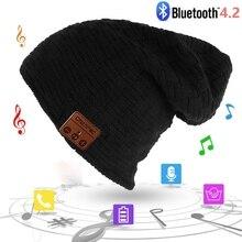 Best Christmas Gift Fashion Wireless Bluetooth Music Hat Cap Bluetooth Earphone Headphone Headset Speaker Mic Sport Knitted Hats