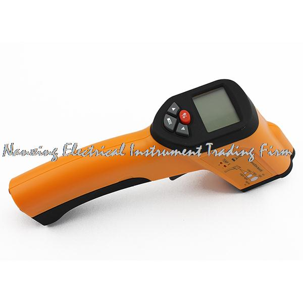 Fast arrival XINTEST HT-6897 Non-Contact High Temperature Infrared Thermometer Type K Probe input measuring temperature цена