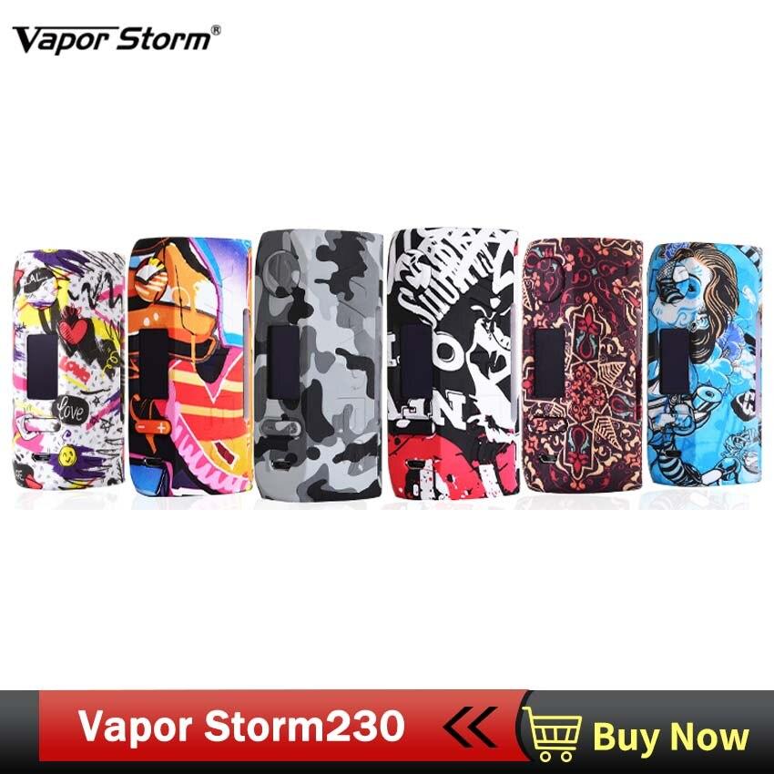 Vapeur Storm230 dérivation 200 W VW TC boîte Mod Vapes mode Mod soutien double batterie 18650 Cigarette électronique RDA RBA RDTA