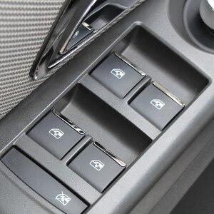 Image 2 - דלת חלון מתג מעלית כפתור כיסוי Trim עבור שברולט Cruze 2009 2010 2014/מאליבו 2012 2013 2014 עבור אופל Mokka Insignia