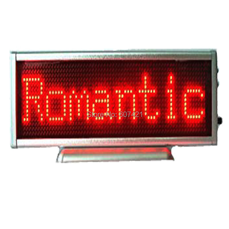 Table Red Led Car Rear Window Sign Board Scrolling Red Message Display Board for Car-Controlled by Mobile car auto red led programmable message sign scrolling moving display board with infrared remote controller car led display board
