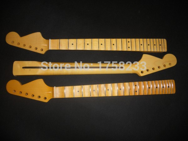 2019 Free shipping Wholesale matt finish vintage guitar neck with scalloped hot sale Fingerboard groove neck цена