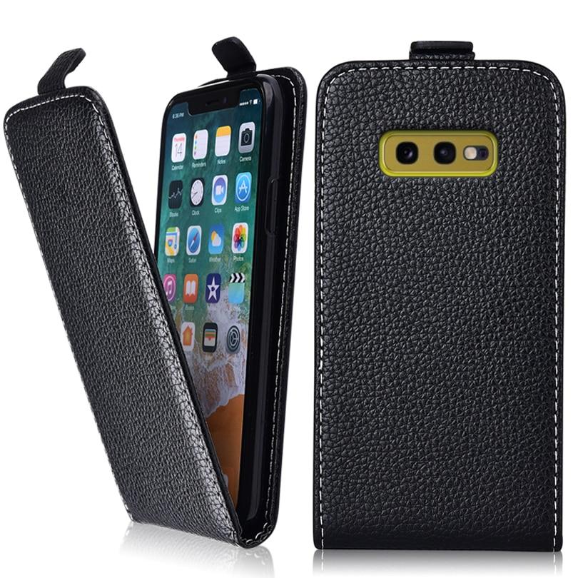 S10e Cover Vintage Flip Case For Samsung Galaxy S10e Case 100% Special Fundas Cover PU Plain Cute Patterned Animal Fundas