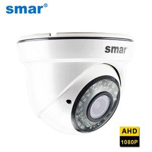 Smar HD 1080 AHD Camera With 2.8-12mm 4X Manual Varifocal Lens 36 IR LED Indoor Wired Dome Surveillance Camera IR Cut Filter
