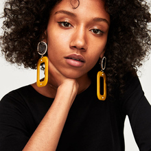 2017 Geometric Drop Dangle Earrings Bohemia Big Earrings For Women Statement Jewelry Wholesale Brincos