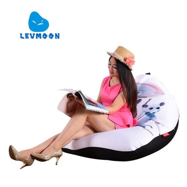 LEVMOON Beanbag Cadeira Do Sofá rato pequeno zac Conforto Do Assento do Saco de Feijão Tampa de Cama Sem Enchimento de Algodão Lounge Chair Beanbag Interior