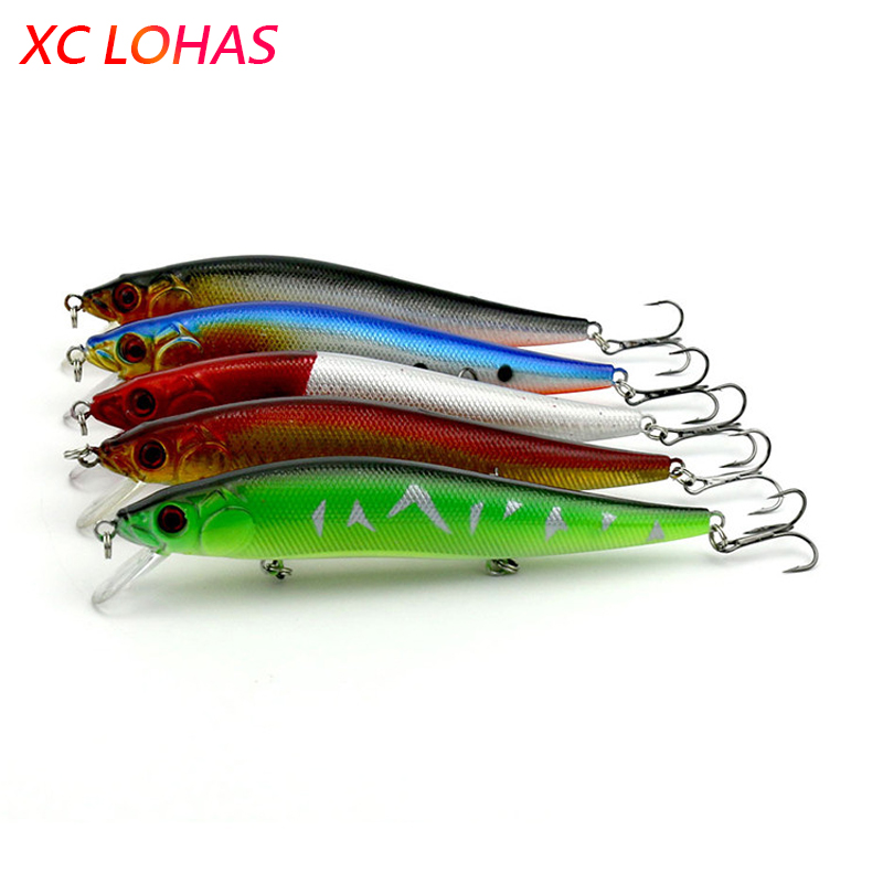 14cm 23g Big Heavy Sea Fishing Lure Bent Minnow Artificial Bait 3D Fish Eye Minow Lures Fake Bait Swimbait Crankbait MI087 1pcs 12cm 14g big wobbler fishing lures sea trolling minnow artificial bait carp peche crankbait pesca jerkbait ye 37