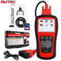 Universal OBD2 OBDii ABS SRS Transmission and Engine Diagnostic Tool Autel MaxiDiag Elite MD802 4 System Escaner Automotive Tool