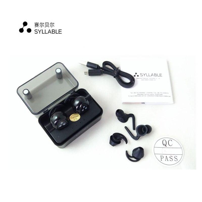D900S Mise À Jour Version Syllabe D900MINI fone de ouvido Bluetooth 4.1 Écouteur Stéréo Casque Mains Libres Sans Fil Sport écouteurs