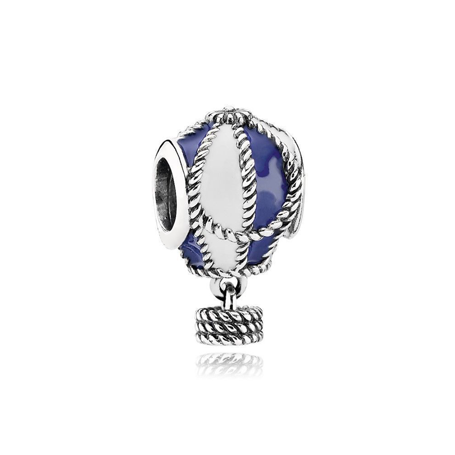 Schmuck & Zubehör Chamss 19 Jahre 925 Sterling Silber Heißer Luft Ballon Anhänger Charme Original Frauen Schmuck Ornamente Geschenke Freies Verschiffen