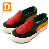 Patchwork Children Shoes Canvas Kids Shoes For Boys Girls Slip On Canvas Flat New 2017 Spring
