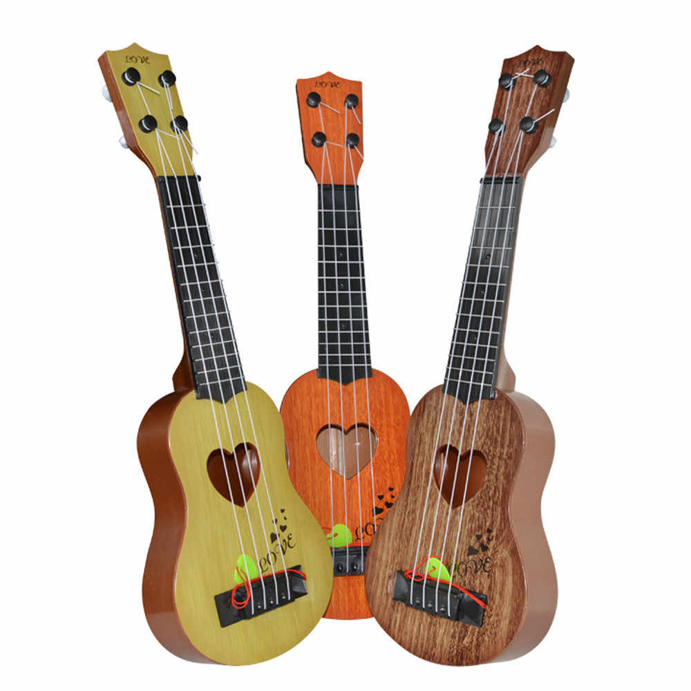 Baby Toys Beginner Classical Ukulele Guitar Educational Musical Instrument Toy for Kids  Wisdom Development Toys For Girl Boy