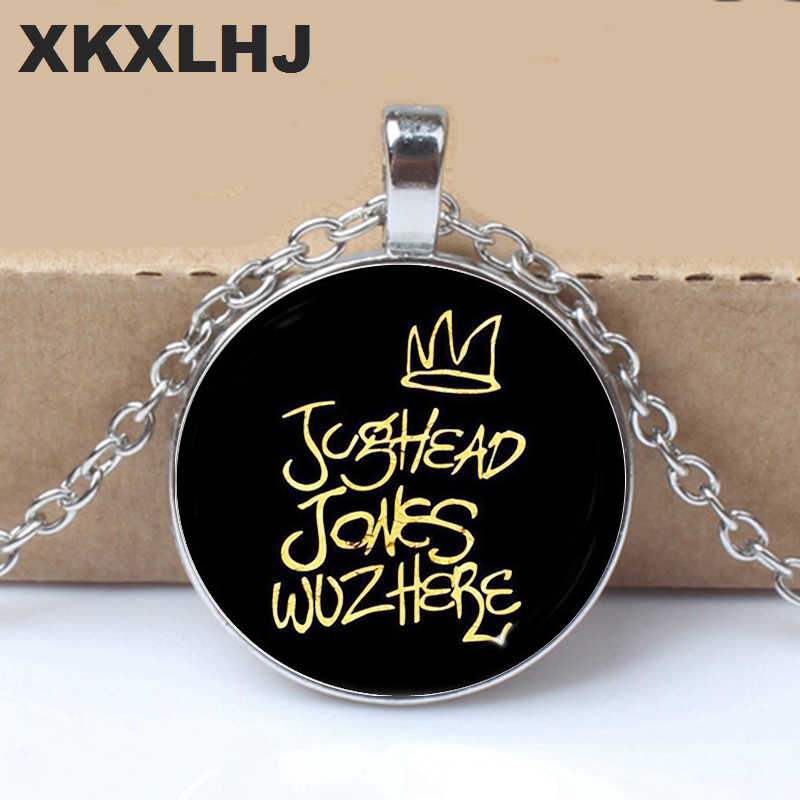 HOT! Arrival Riverdale Pendant Necklace Mysteries of Riverdale Jewelry Glass Dome Pendants Silver Handmade Necklaces