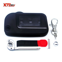 XTL Case For Starline A93 Uncut Blade Fob Case Cover A93 Folding Car Flip Remote Free