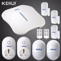 2016 New KERUI W1 WIFI Alarm System Home Burglar Security PSTN Intelligent Android IOS APP Control