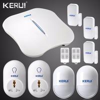 2016 New KERUI W1 WIFI Alarm System Home Burglar Security PSTN Intelligent Android IOS APP Control