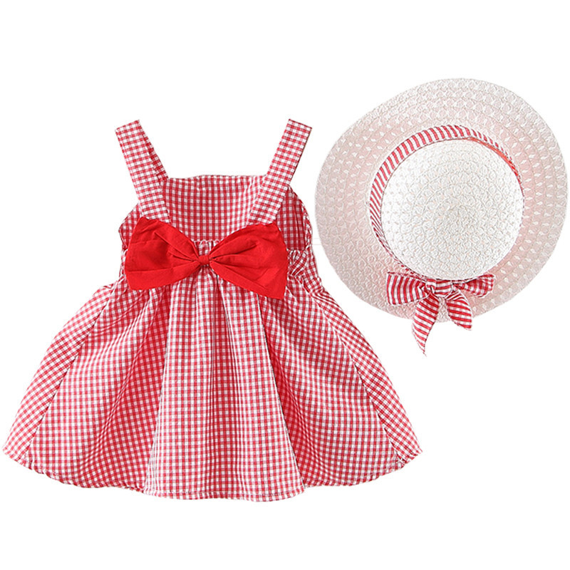 Girls Dress Summer Children Clothing Floral Sundress with Hat Holiday Wear Outdoor Beach Baby Outfits 1-3Y Girls Summer DressGirls Dress Summer Children Clothing Floral Sundress with Hat Holiday Wear Outdoor Beach Baby Outfits 1-3Y Girls Summer Dress