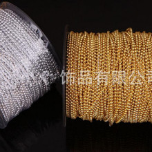 holiday supplies ,90meters/lot 3mm Gold, silver color string