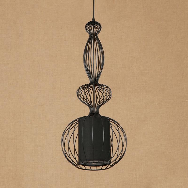 Modern large iron wire LOFT art pendant lamp LED Light Cabinet Living/dining room hotel/bar E27 lamp Pendant Light Fixture 220V свитшот alcott alcott al006ewwbj75 page 1