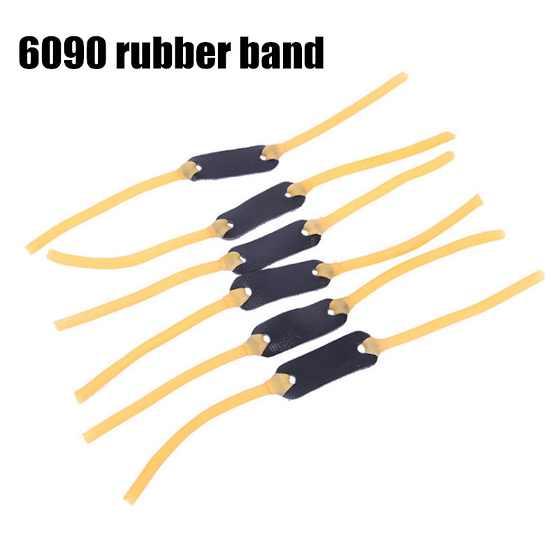 5PCS  6*9mm Elastic Rubber Band Bungee Replacement For Slingshot Catapult Hunting