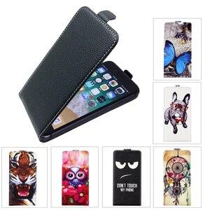 Coque SONCASE pour Vertex impressionner Lion double cam 3G coque de téléphone Flip 100% spécial belle Cool cartoon pu housse en cuir