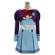 DJ DESIGN Ja! anvulkanisierten 5 Ja! Pretty Cure 5 Schule Student Uniform COS Cosplay Kostüm(China)
