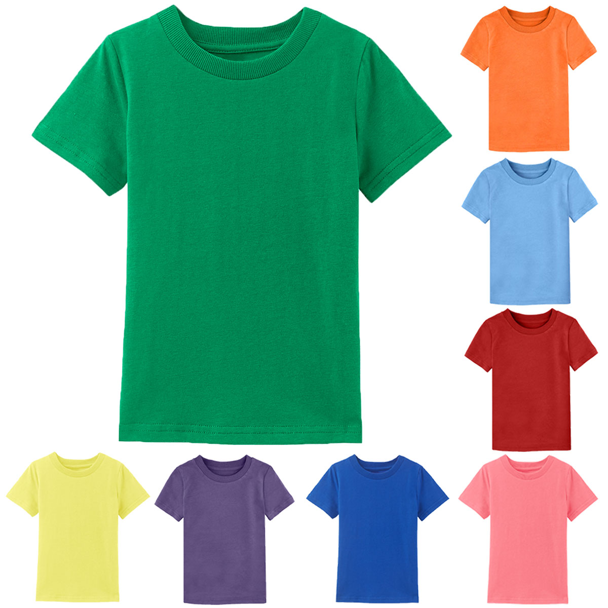 f4ad4c6d Worldwide delivery kids plain shirts in NaBaRa Online