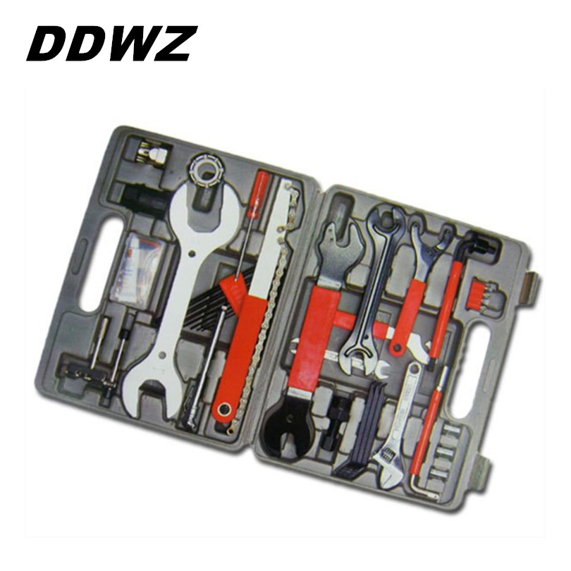 Repair Tools Bicycle Multifunctional Kit Repair kits Complete Set Toolbox Bike Tool Set Wrench Multi Tool Portable 44 In 1 multifunctional bike repair tools 11 in 1 mountain road bicycle tool set wrench screwdrive chain cutter 1pcs cycling tool kit