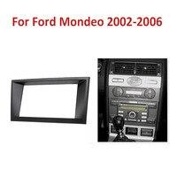 2 DIN Car Refitting Radio Stereo DVD Frame Fascia Dash Panel Installation Kits For Ford Mondeo