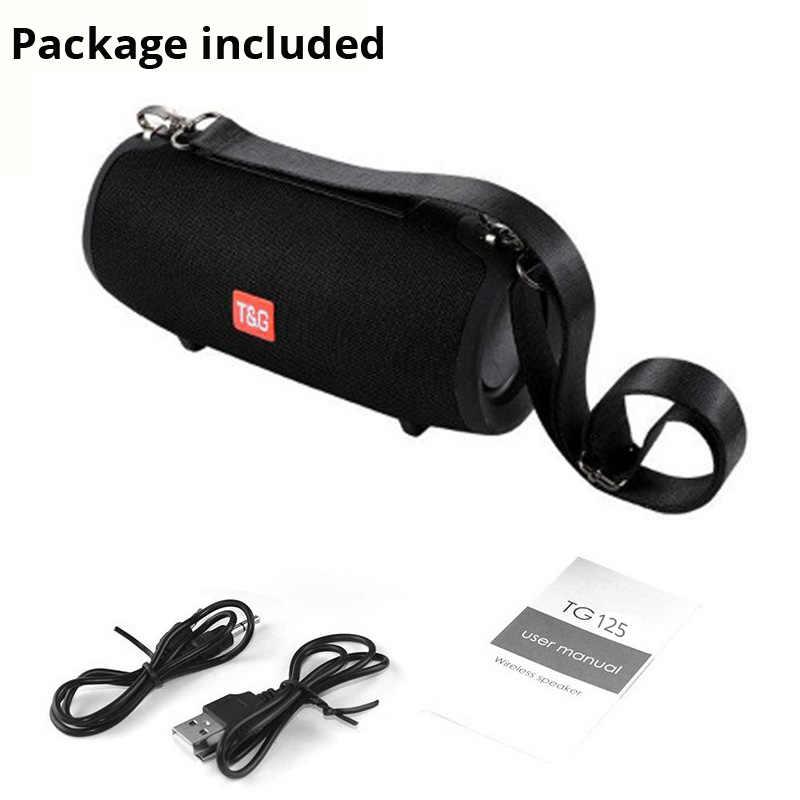Bluetooth Speaker Kolom Wireless Portable Kotak Suara 20W Stereo Bass Subwoofer FM Radio BOOMBOX AUX USB PC Sound Bar untuk iPhone
