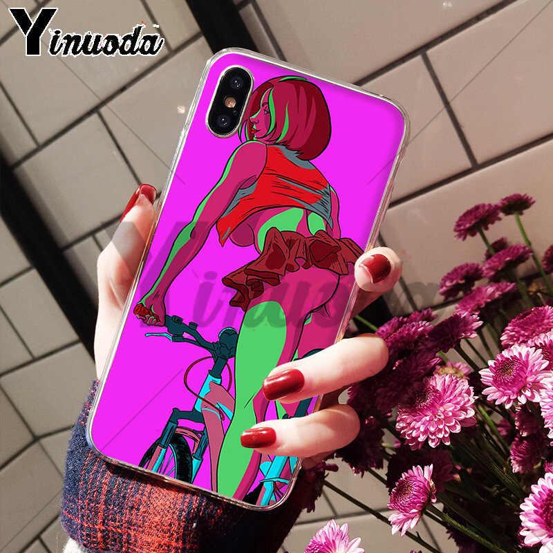 Yinuoda сексуальная горячая девушка лето Twerk It Swag art горячая Распродажа Модный чехол для телефона для Apple iPhone 8 7 6 6S Plus X XS max 5 5S SE XR