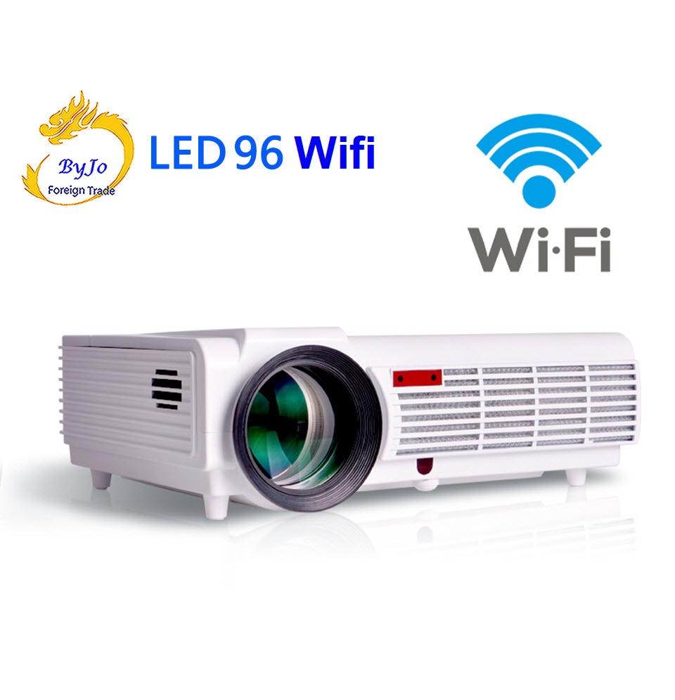 Poner Saund LED 96 wifi LED projecteur 3D android wifi hd BT96 proyector 1080 p HDMI Vidéo Multi écran théâtre système de cinéma maison