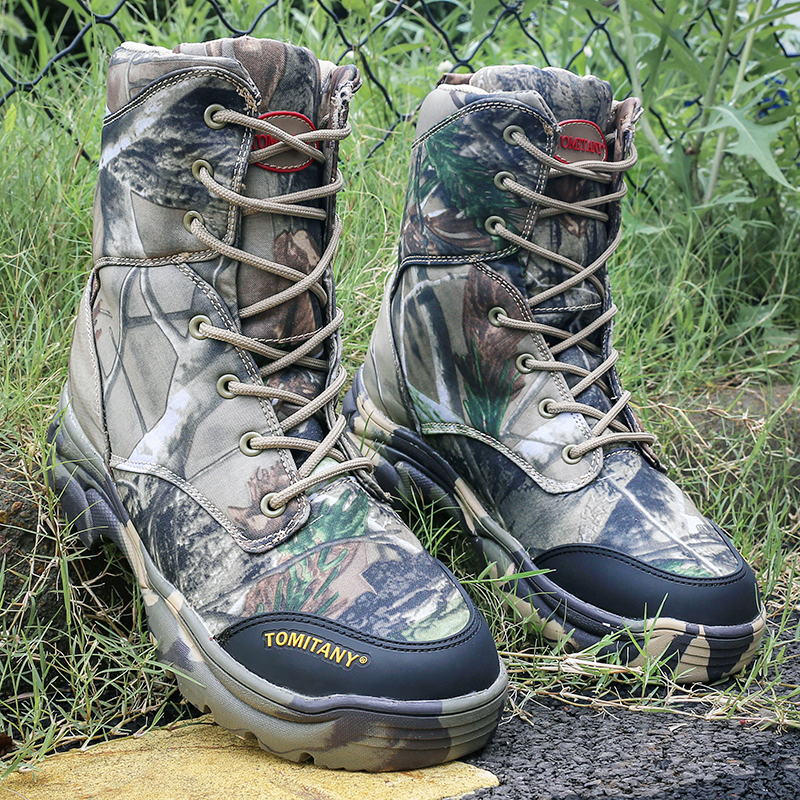 Bottes Homme Militaire Armée Désert De Hommes Imperméables D'hiver Chaussures Bottines Tactique Neige Combat ZwExqRU