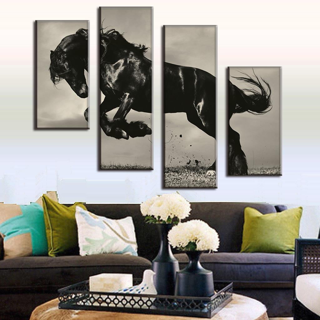 Stores With Home Decor: Aliexpress.com : Buy Huge 4 Pcs/set Animal Painting