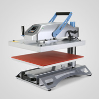 (40 X 50)cm Heat Press Transfer Machine With Additional Platen 30*35cm 13*13cm 12*45cm including shipping to kuwait