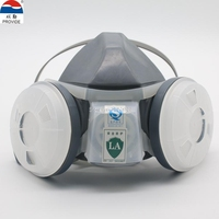 PROVIDE Respirator Dust Mask High Quality Gray Respirator Face Mask PM2 5 Industrial Safety Spraying Painting