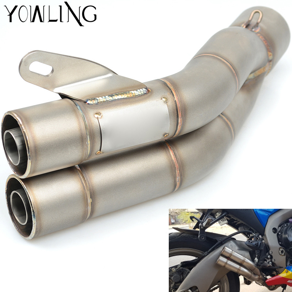 51MM Universal Modified Motorcycle Scooter Exhaust Pipe Muffler Escape Moto FOR KAWASAKI HONDA BMW KTM duke 125 200 390 690 for 36 51mm universal motorcycle exhaust motorbike exhaust pipes bike muffler for ktm duke 200 390 125 rc125 rc200 rc390 125duk