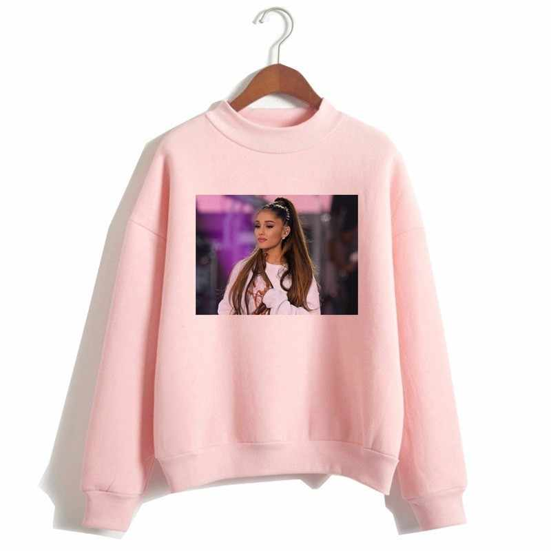 Kobiety drukuj bóg jest bluzy damskie bluzy z kapturem Harajuku Ariana Grande bluza bez łez z lewej do płakać bluza z kapturem
