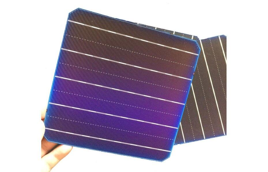 100 w para o uso casa da pilha solar diy