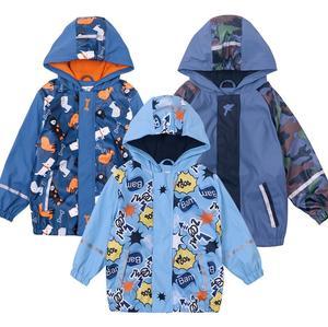 Image 3 - Ветрозащитная водонепроницаемая куртка для мальчиков, детские толстовки, верхняя одежда для мальчиков, одежда для девочек, детский зимний флисовый плащ От 2 до 6 лет