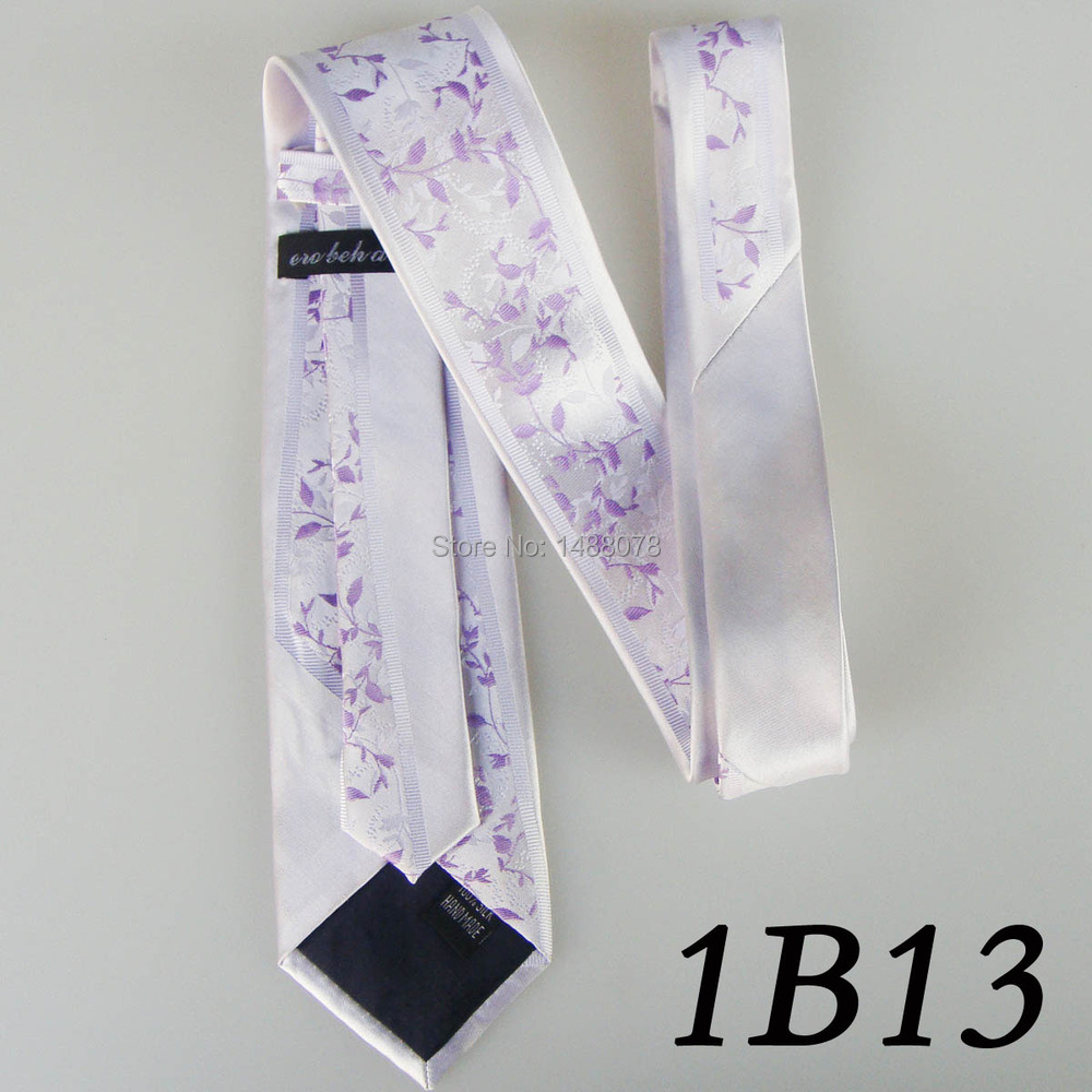 Flower White Lilac Ties 1B13++