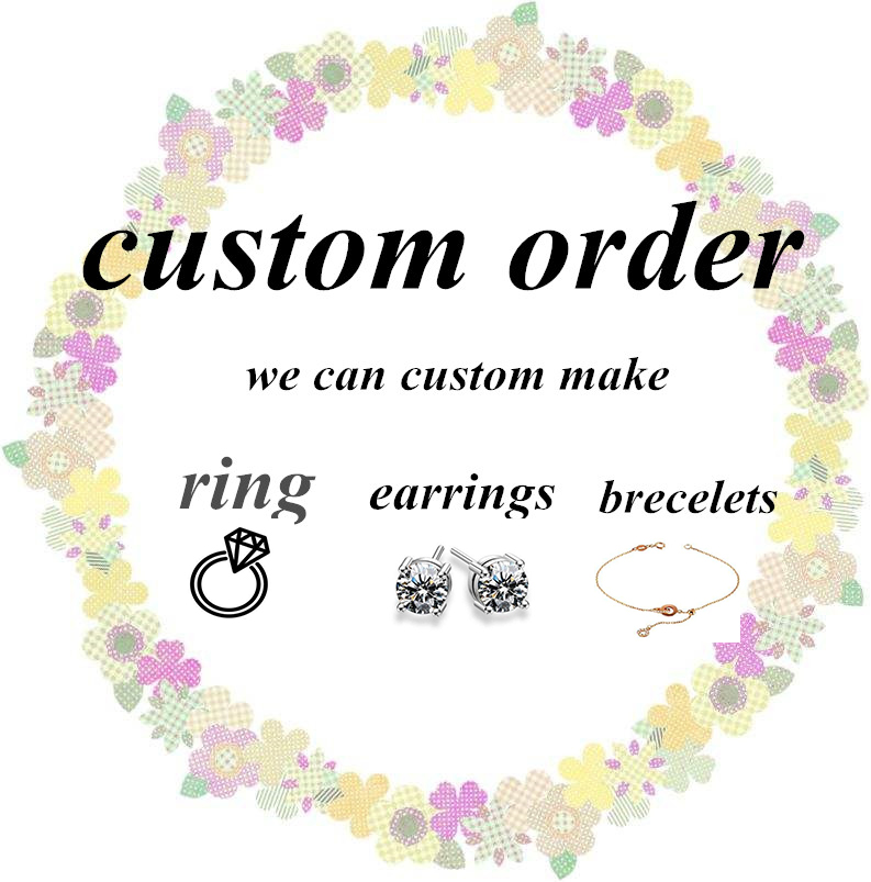Customized 14k rose gold 8mm F color moissanite ring with 16pcs accents, band width 1.8mm/2mm with engrave letter
