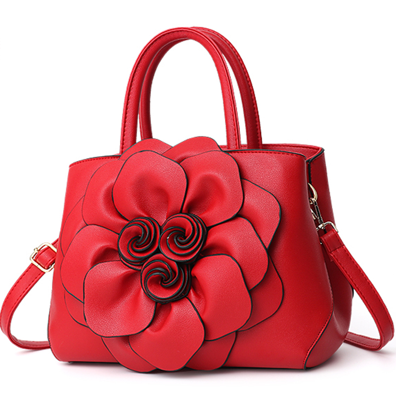 Nevenka Handbag Women Floral Handbags Small Shoulder Bags Leather Crossbody Bag for Women Handbags Purses and Handbags 201817