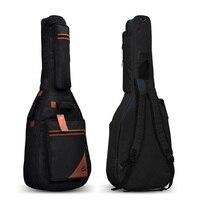 Free Shipping Soldier Thickening Sponge Electric Guitar Bag Rock Electrguitar Backpack Fashion Gird Pattern Electric Bass