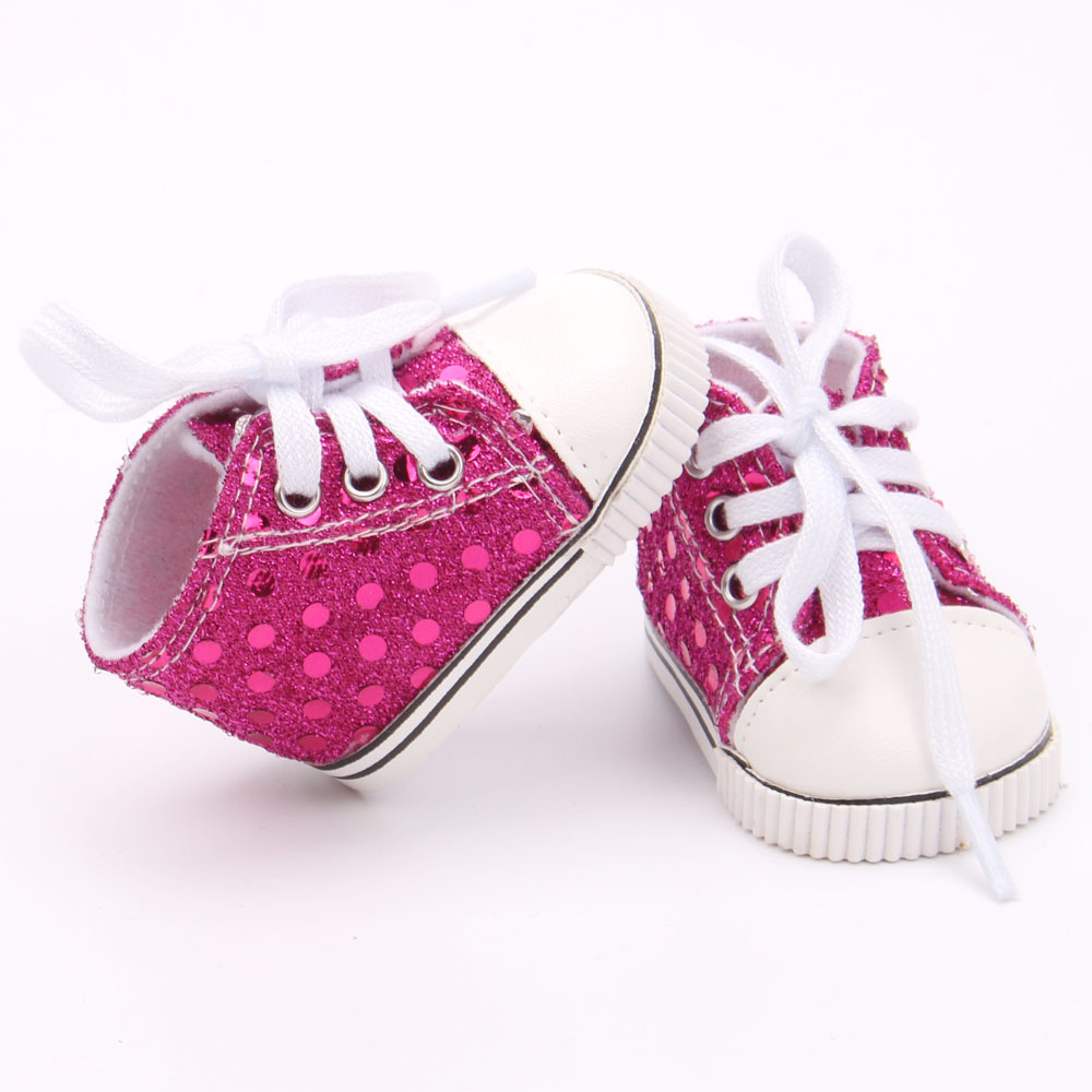 Doll shoes ,bue sport leisure doll shoes for 18 inch american girl doll for baby gift TX-3